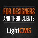 LightCMS, for designers and their clients