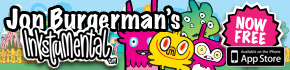 Jon Burgerman's Inkstrumental™ Now Free