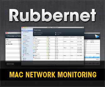 Rubbernet - Mac Bandwidth Monitoring