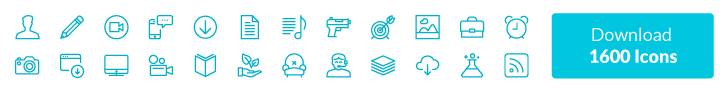 1600 Vector icons