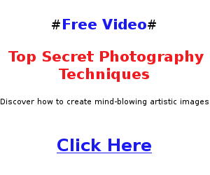 Top Secret Photography Techniques