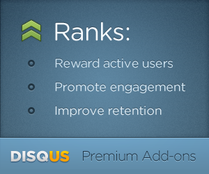 Disqus Ranks: Reward Active Users | Promote Engagement | Improve Retention