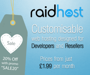 Raid Host - Customisable web hosting designed for Developers and Resellers