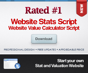 Best Website Value Calculator Script