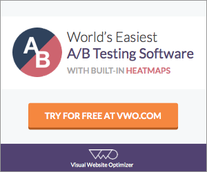 Visual Website Optimizer - 30 Day Free Trial Account