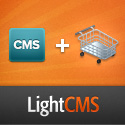 Build a Website and an Online Store with LightCMS