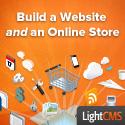 Construir un sitio web y una tienda online con LightCMS