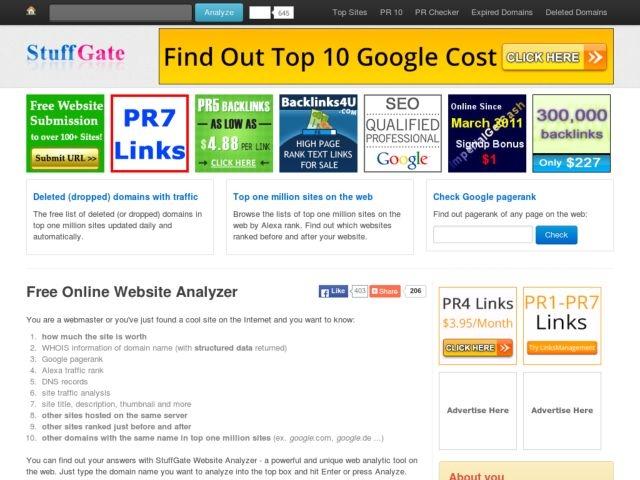 Advertise on StuffGate Web Tools   BuySellAds