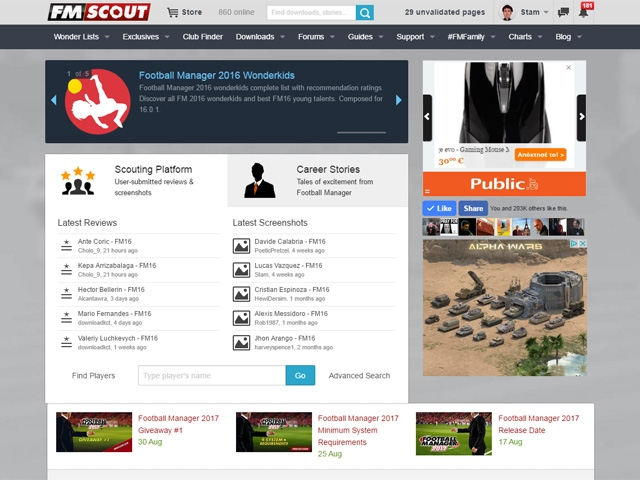 Football Manager Scout