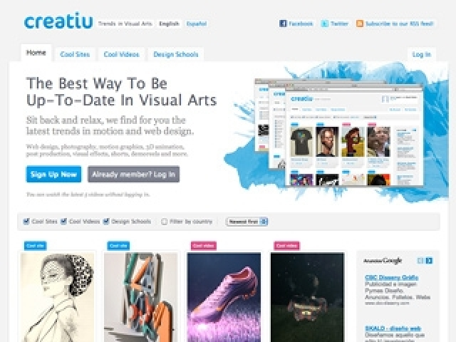 CREATIU Cool Sites & Videos