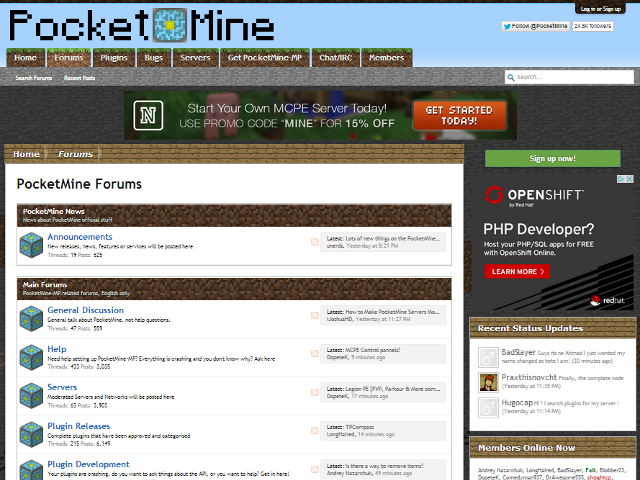PocketMine Forums