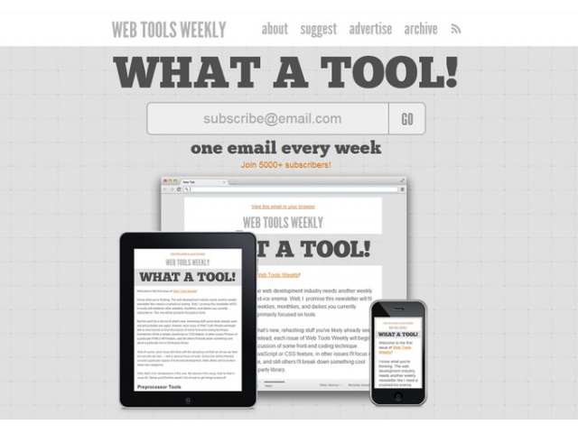 Web Tools Weekly