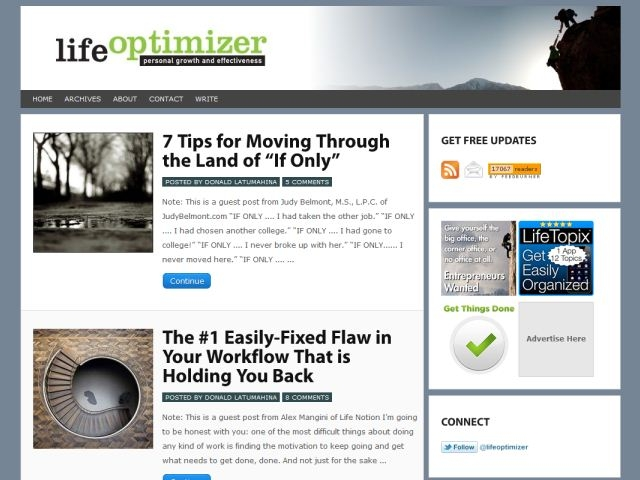 Life Optimizer
