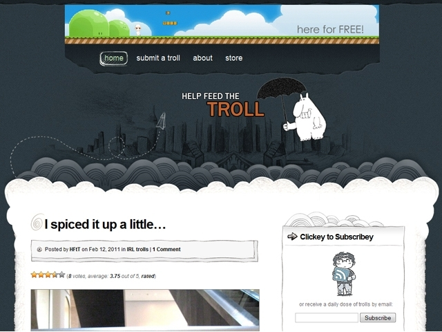 Help Feed The Troll