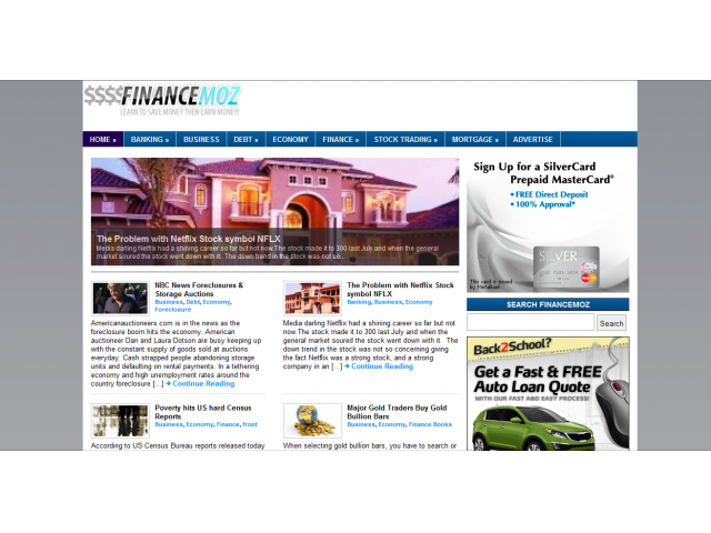 Finance News and Articles