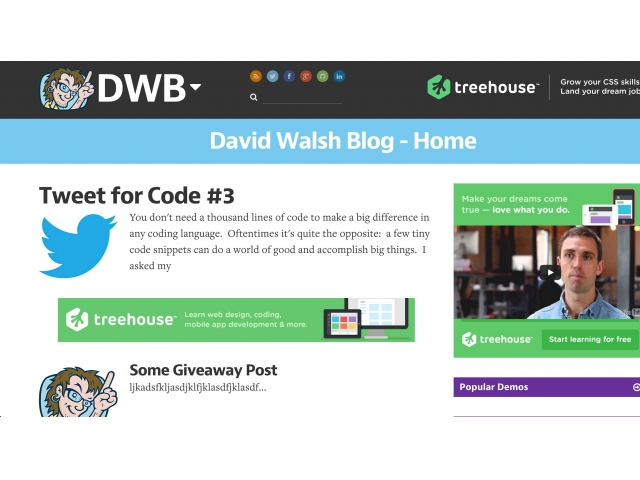 David Walsh Blog