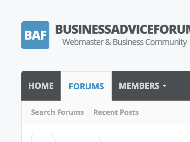 Business & Webmaster Forum