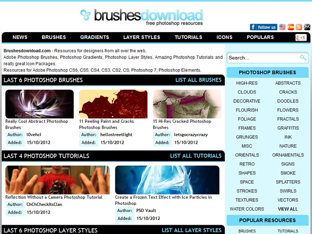 Brushesdownload.com