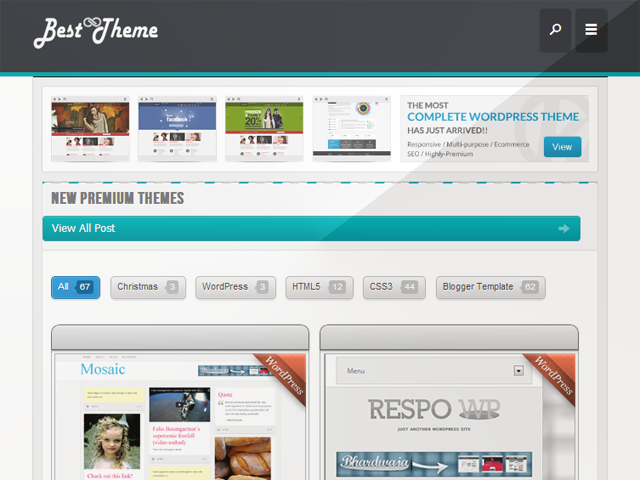 WordPress & Blogger Themes